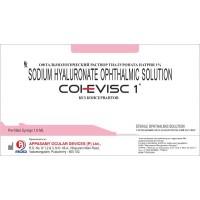 Раствор офтальмологический вискоэластичный Cohevisc 1*