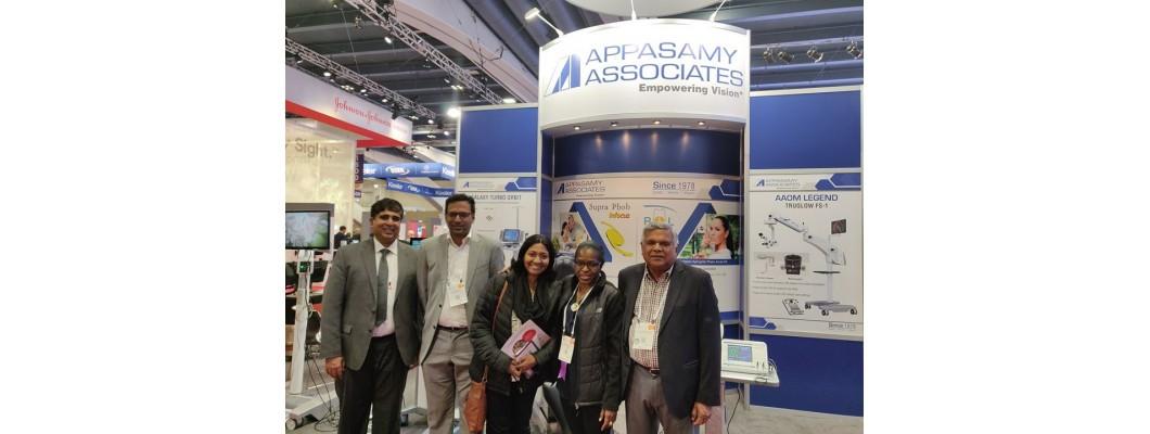 Appasamy приняла участие в выставке Американской Ассоциации Офтальмологов в Сан-Франциско