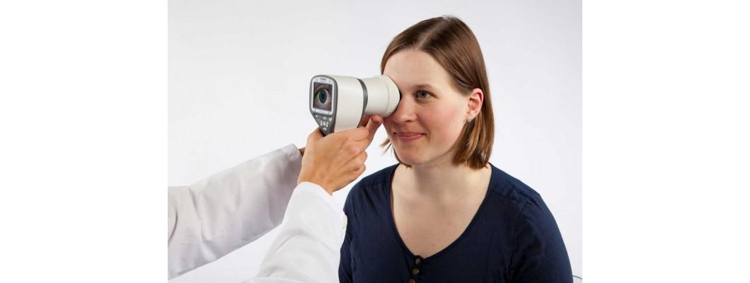 Определение состояния глазного дна методом биомикрофотографии с помощью фундус-камеры
